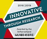 Logo Stifterverband innovativ durch Forschung